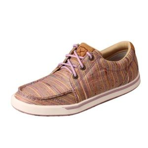 NEW TWISTED X WOMEN'S LILAC LACE-UP KICKS Shoes